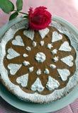 Шоколадный торт на День матери Стоковое Фото