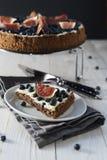 Шоколадный торт смоквы стоковые изображения rf