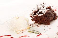 Шоколадный торт Стоковое фото RF
