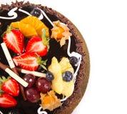 Шоколадный торт Стоковое Изображение RF