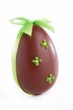 Шоколад пасхального яйца Стоковое фото RF