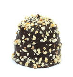 Шоколад - покрытая cream слойка Датская кухня Стоковое Изображение