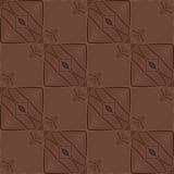 шоколад предпосылки безшовный Стоковые Фото