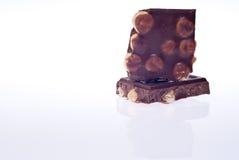 Шоколад с гайками  стоковые фото