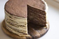 шоколад торта вкусный Стоковое Фото