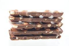 Шоколад фундука Стоковые Фото