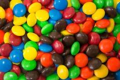 Шоколады круга красочные Стоковое Фото
