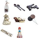Шоколады подарка в форме забавных диаграмм Стоковое фото RF