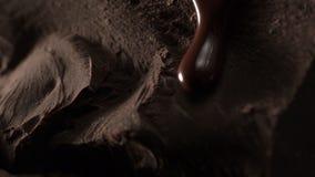 шоколад сток-видео