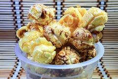 Шоколад Popcrorn Стоковое фото RF