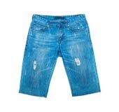 Шорты джинсовой ткани Стоковое Фото