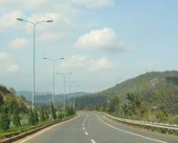 Шоссе в Вьетнаме Стоковое Изображение RF