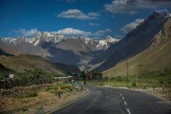 Шоссе в Кашмире Стоковые Изображения