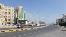 Шоссе города в Египте сток-видео