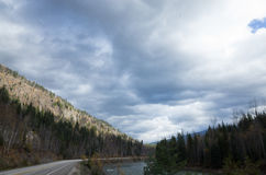Шоссе горы Стоковое фото RF