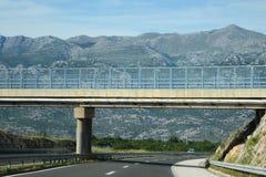 Шоссе & мост через гору Стоковая Фотография RF