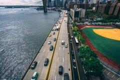 Шоссе Нью-Йорка стоковые фото