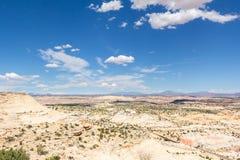 Шоссе 12 одна дорога Миллион-доллара от Больдэра к Escalant Стоковое Изображение