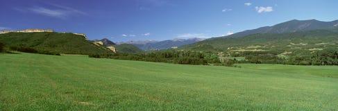 Шоссе сказаний, долина Cuchara, Колорадо Стоковое Изображение