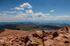 Шоссе щук пиковое в Колорадо-Спрингс, Колорадо Стоковые Фото