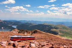 Шоссе щук пиковое в Колорадо-Спрингс, Колорадо Стоковое Изображение