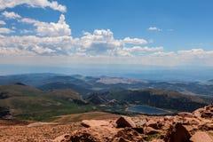 Шоссе щук пиковое в Колорадо-Спрингс, Колорадо Стоковая Фотография