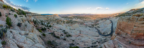 Шоссе Юты 12 миллиона дорога доллара Стоковое Фото
