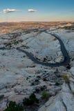 Шоссе Юты 12 миллиона дорога доллара Стоковые Фото