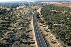 Шоссе N7 Westcoast в Южной Африке стоковая фотография