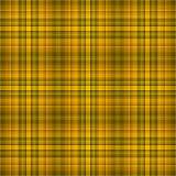шотландка предпосылки коричневая Стоковые Изображения