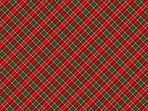 шотландка предпосылки Стоковые Изображения