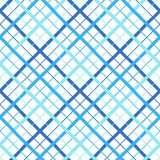 Шотландка, проверка, lattice безшовная картина, раскосные нашивки различной ширины Стоковые Фотографии RF