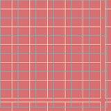 Шотландка ржавчины с зеленым цветом иллюстрация вектора