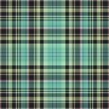 Шотландка тартана и ткань дизайна Шотландии, проверка сведений иллюстрация штока