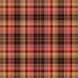 Шотландка ткани тартана, предпосылка безшовная проверка ткани иллюстрация штока