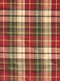 шотландка ткани чела предпосылки Стоковые Изображения RF