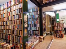 Шотландская библиотека в Инвернессе стоковые фото