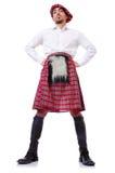Шотландская принципиальная схема традиций стоковое фото