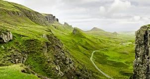 Шотландские гористые местности Стоковые Изображения RF