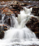 Шотландский водопад Стоковые Фото