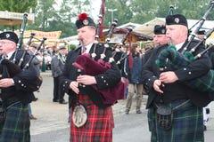 Шотландский военный оркестр стоковое изображение rf