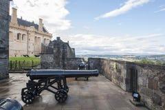 Шотландский замок, замок Стерлинга стоковое изображение