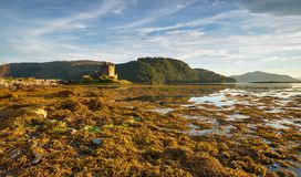 Шотландский замок Стоковая Фотография RF