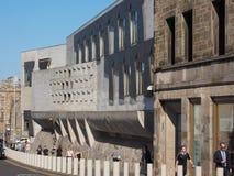 Шотландский парламент в Эдинбурге Стоковое Изображение