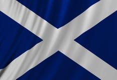 Шотландский флаг иллюстрация штока