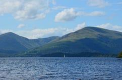 Шотландское маленькое море стоковая фотография rf