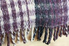 шотландка мексиканца края одеяла Стоковые Изображения RF