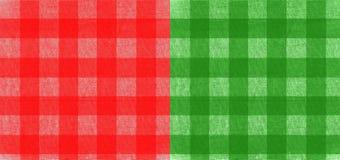 шотландка ткани Стоковые Фото