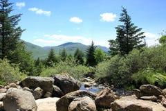 Шотландия, гористая местность, горы Стоковое Фото