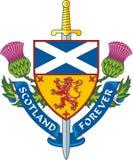 Шотландия навсегда Стоковое Изображение RF